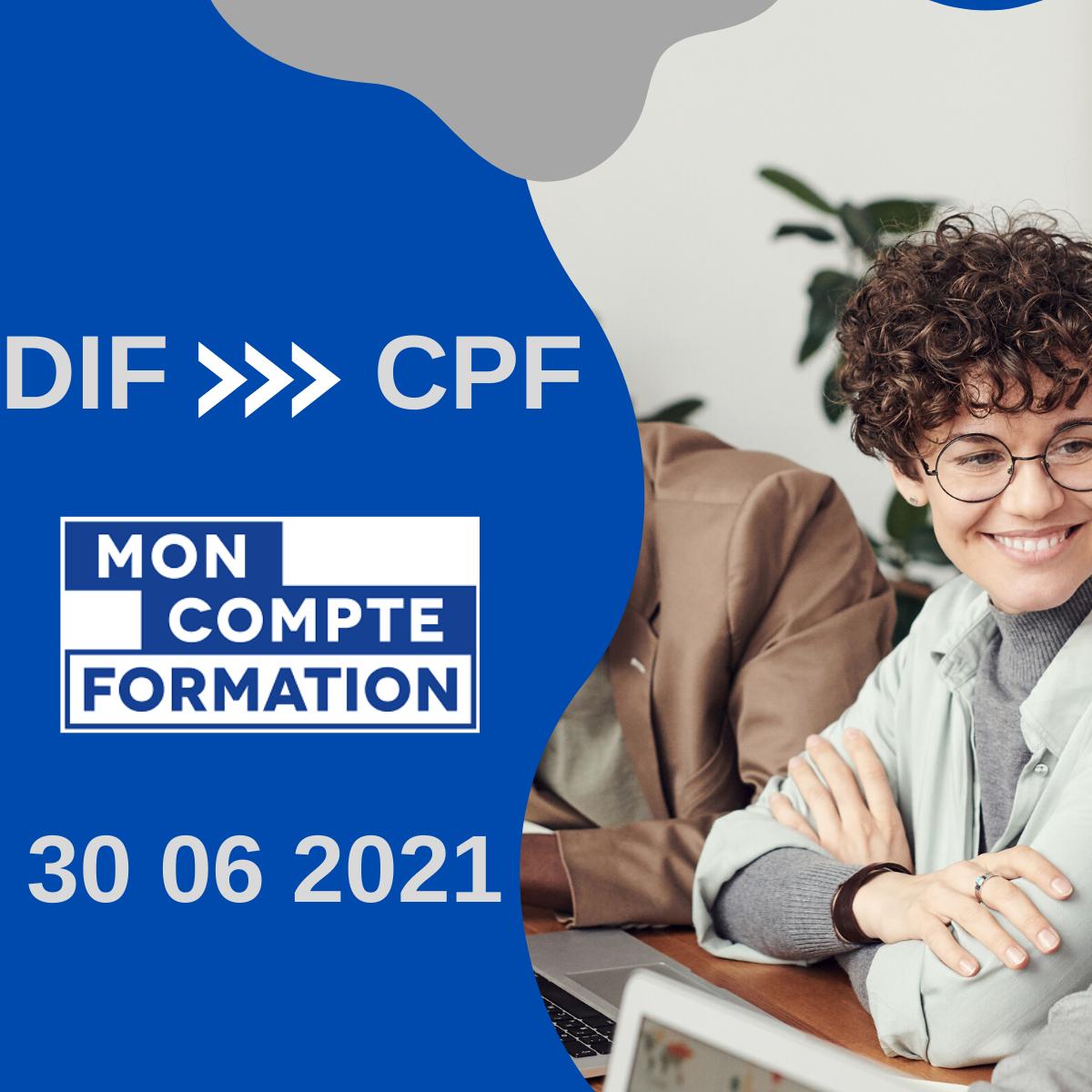 # J- 15 jours pour transférer vos heures DIF sur votre CPF !